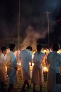 御頭神事(高向大社) - おかた踊り(ツムギ祭場)