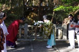 獅子頭神事(田丸神社)