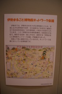 伊勢まるごと博物館ネットワーク会議のポスター