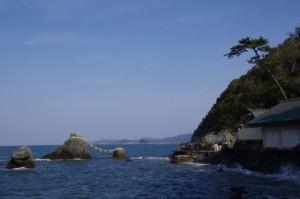 夫婦岩(二見興玉神社)