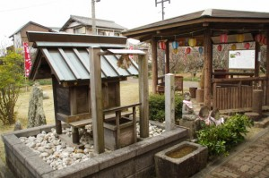 秋葉神社(新開臥龍梅公園)