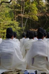 春季皇霊祭遥拝