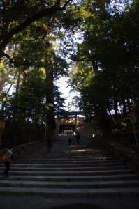 御正宮への石階(内宮)