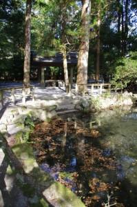 御池付近(内宮)