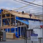 伊勢市観光協会新築工事