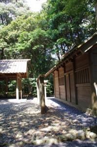 修祓所と忌火屋殿(伊雑宮)
