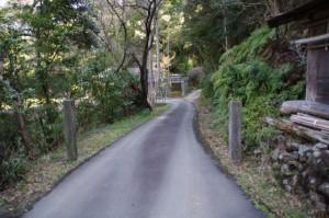 加茂神社(鳥羽市)への参道