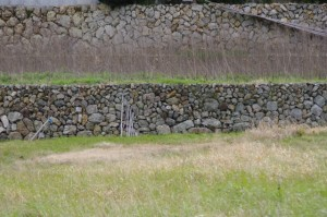 鳥羽市河内町の石垣