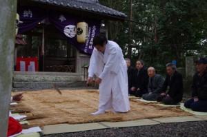 田起こし、鍬形祭(九鬼岩倉神社)