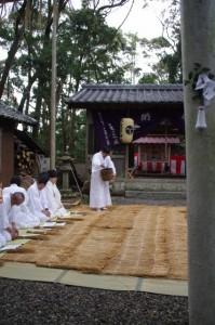 肥しまき、鍬形祭(九鬼岩倉神社)