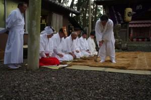 あぜくろ、鍬形祭(九鬼岩倉神社)