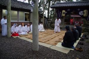 田ならし、鍬形祭(九鬼岩倉神社)