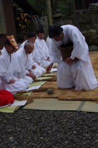 種まき、鍬形祭(九鬼岩倉神社)