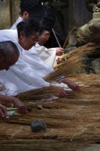 田植え、鍬形祭(九鬼岩倉神社)