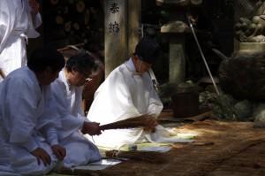 鍬形祭(九鬼岩倉神社)