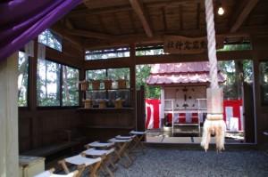 拝殿(九鬼岩倉神社)