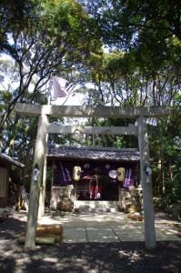 鍬形祭の後で(九鬼岩倉神社)