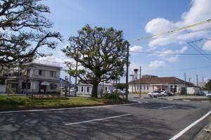 JR山田上口駅付近