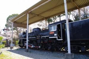 蒸気機関車C58414