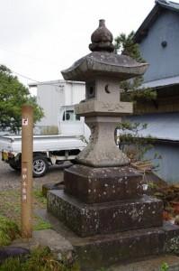 太神宮常夜燈(神末西町バス停)