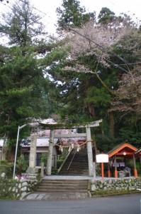 仲山神社(美杉町八知)