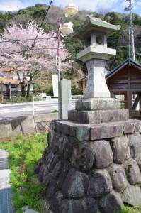 太神宮常夜燈ほか(竹原コミュニティ防災センター前)