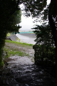 朝熊神社から望む朝熊橋