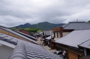 眺関亭(10)からの眺望、西追分方向