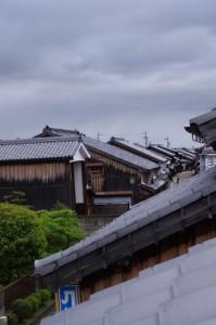 眺関亭(10)からの眺望、東追分方向