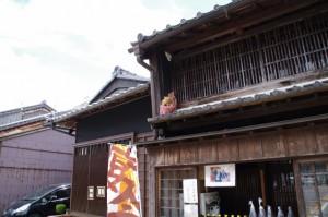 漆喰彫刻 虎(C)