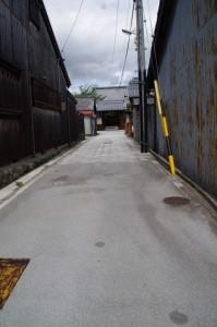 宝林寺への参道