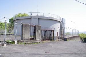 大和田配水池(奈良市水道局)