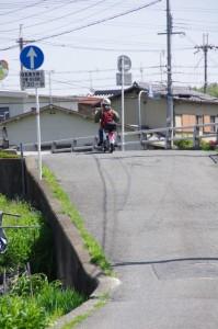 下鳥見橋(富雄川)