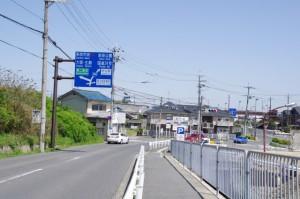 5683ポイントの交差点(近鉄てくてく伊本-3まっぷ)