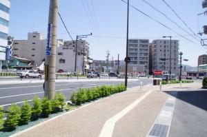 三条栄町交差点(県道1号線)