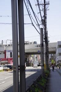 JR奈良駅付近の高架