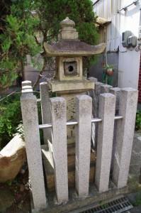 常夜燈(土橋付近)