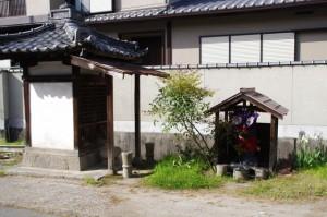 8737ポイント付近の祠(近鉄てくてく伊本-4まっぷ)