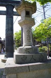 常夜燈(金峯山寺 銅鳥居前)