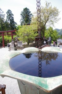 蔵王堂からの風景(金峯山寺)