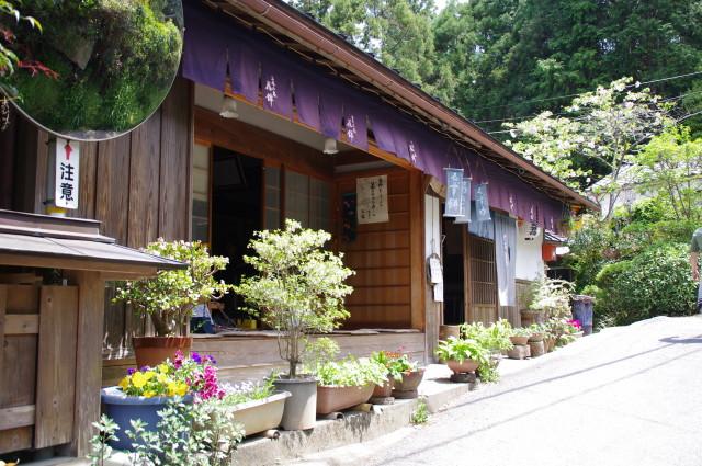 3521ポイント付近の茶屋(近鉄てくてく奈良-32まっぷ)