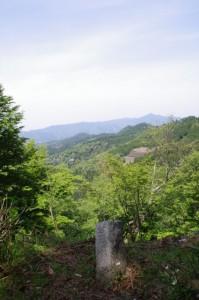 3521ポイント先の祠付近からの風景(近鉄てくてく奈良-32まっぷ)