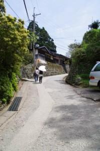 花矢倉から吉水水分神社方向へ