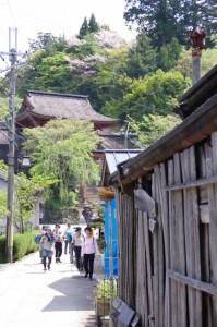 吉野水分神社への参道