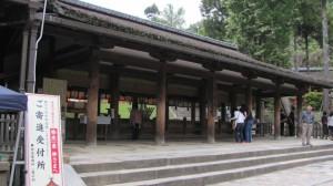 参拝所(春日大社)