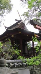 本殿(鏡神社)