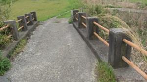 5390ポイントから道路を横断した先の橋(近鉄てくてく奈良-7まっぷ)