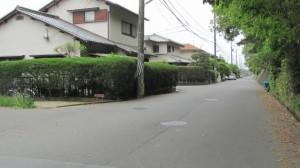 7230ポイント付近(近鉄てくてく奈良-7まっぷ)