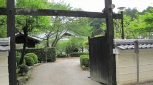 円照寺(この先拝観不可)