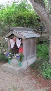 404ポイントの祠(近鉄てくてく奈良-8まっぷ)